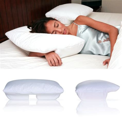 Pillow For Arm Sleepers by Better Sleep Pillow Velour Cover Tempur Neck