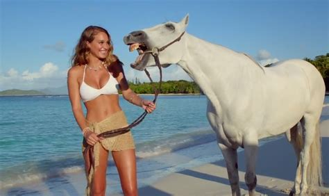 direct tv commercial actress hannah video hannah davis talking horse directtv jpg