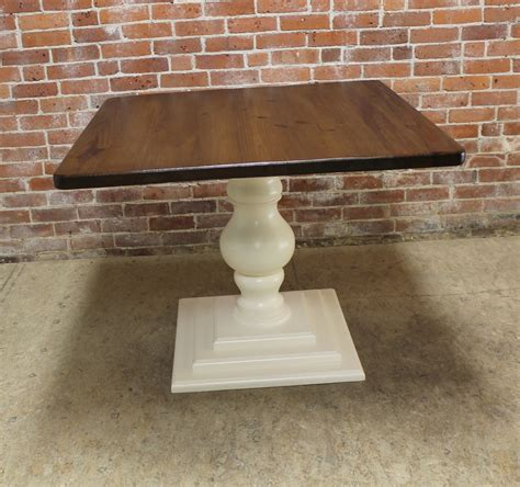 square pedestal kitchen table small square pedestal table ecustomfinishes