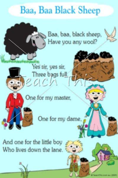 row row row your boat nursery rhyme meaning baa baa black sheep colour songs rhymes pinterest
