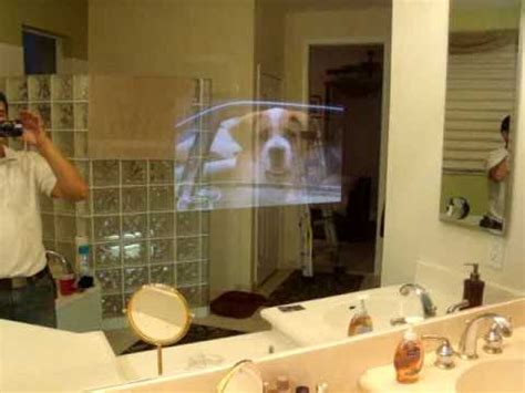 How To Install Tv In Bathroom by Tv Inside Mirror Installation In South Florida Miami