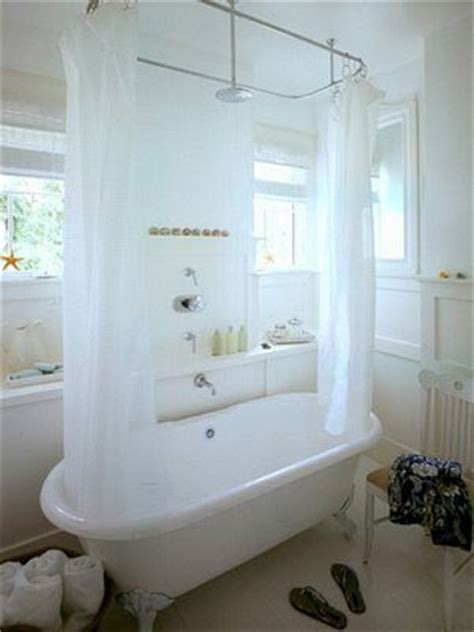 roll top bath with shower curtain m group retail bathrooms