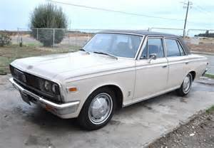 Toyota Crown Ms55 Original Paint And Blue Plates 1970 Toyota Crown Bring