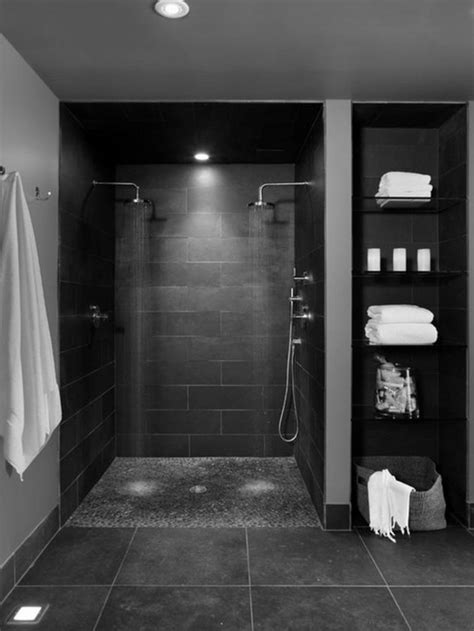 Schwarz Und Grau Bad Ideen badgestaltung ideen f 252 r jeden geschmack