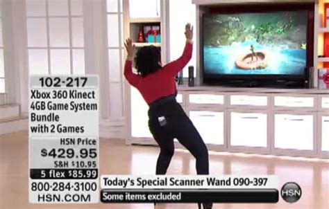 kinect hits the home shopping network kotaku australia