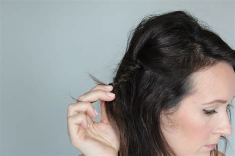 Macrame Hair Braid - basics macrame braid tutorial