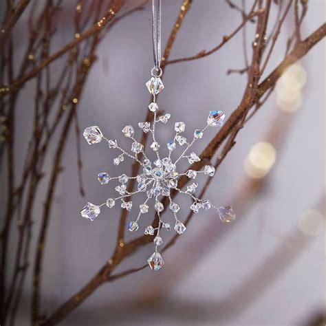 Handmade Snowflakes - handmade snowflake decoration