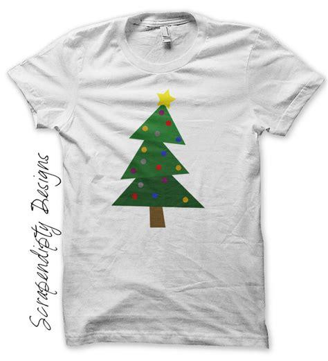 scrapendipity designs 187 christmas tree iron on transfer