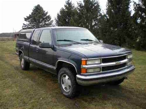 manual repair autos 1993 chevrolet 1500 parental controls buy used 1998 chevrolet 4 x 4 extended cab pickup truck for repair or parts runs drives in grand
