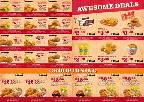 Popeyes: Dining Coupon Deals (Valid till 27 Sep 2015