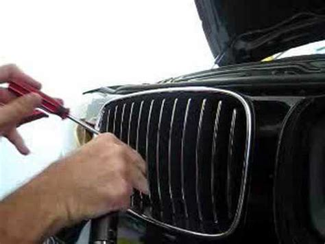Bmw 1er F20 Nieren Wechseln by Bmw 135i Front Grill Replacement