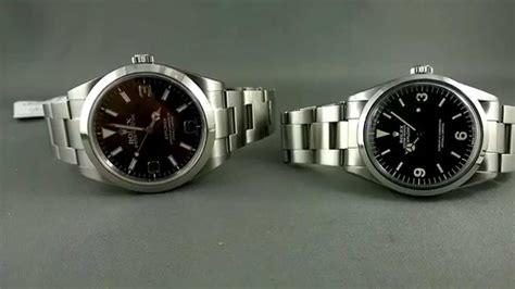 new and new and rolex explorer 1 vintage 1016 and new