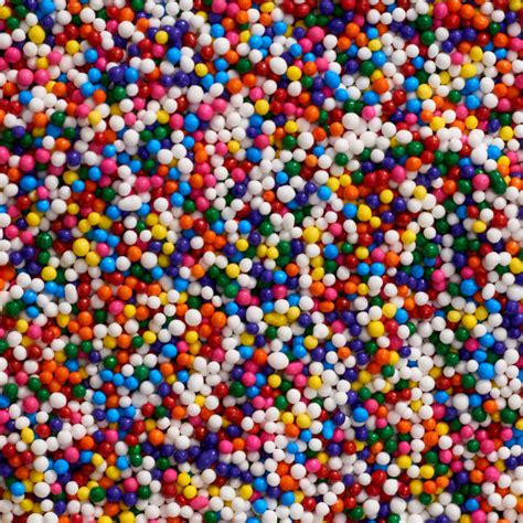 colored sprinkles multi colored nonpareils sprinkles decopac