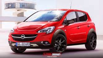 Opel News 2015 Opel Corsa Rocks Rendering Autoevolution