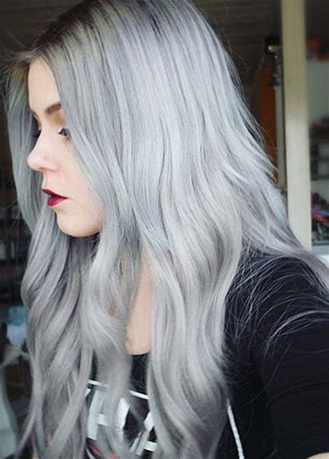 best gray hair color ideas hair tips for going gray 85 silver hair color ideas and tips for dyeing maintaining