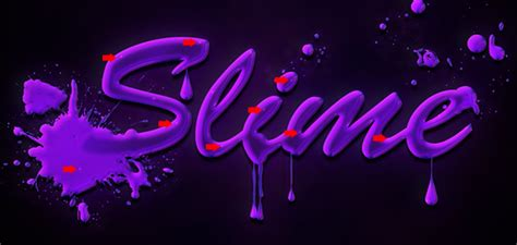 slime tutorial photoshop quick and easy slimy text in adobe photohshop