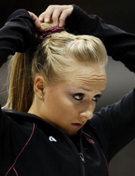 short hair gymnastics style shawn johnson photo gallery hair style gymnastics