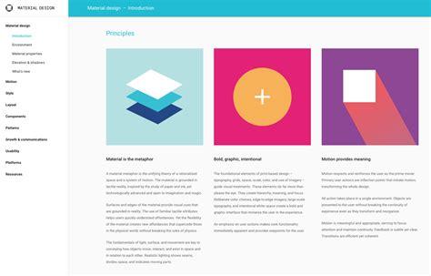google design principles styleguides mit konsistenz vertrauen schaffen
