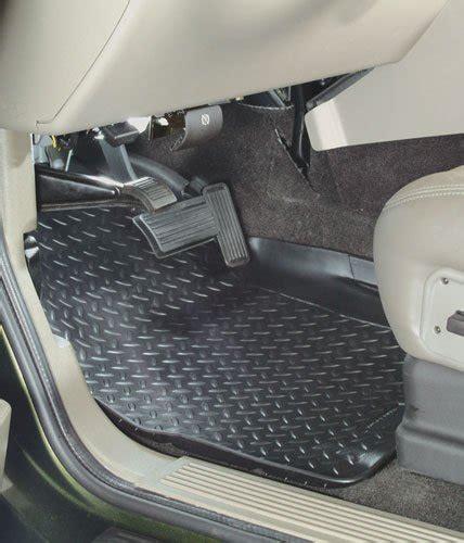 using factory floor mats on top of hushy liners nissan frontier forum