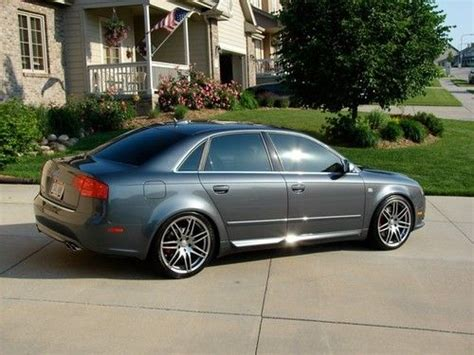 find used 2006 2005 5 2005 audi s4 w extras 19 quot v8 6sp manual nicest on the web rs4 s5 in