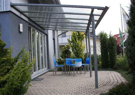 terrassendach ohne wandbefestigung terrassendach bausatz alternative zum kompletten eigenbau