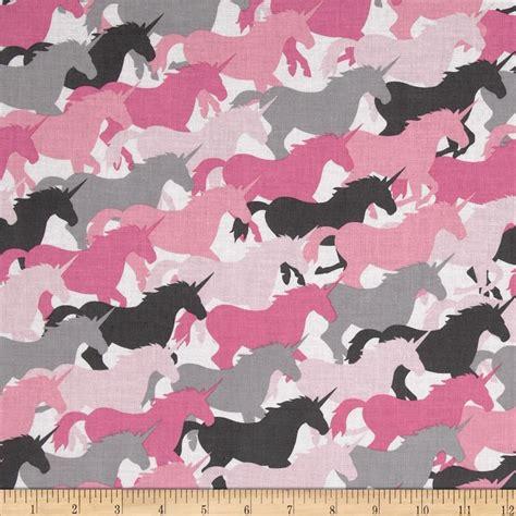 unicorn pattern fabric michael miller unicorn herd girl discount designer