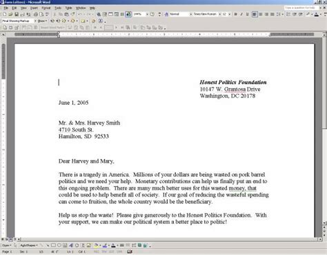 letter template microsoft word business form letter