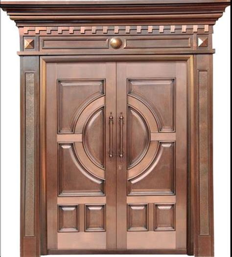 what are exterior doors made of exterior door made of copper various designs are available