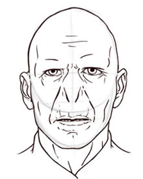 voldemort drawing sketch coloring page