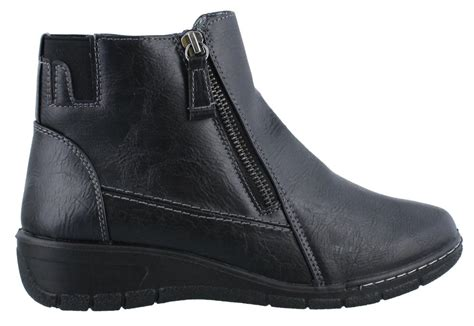 easy beam boot womens ankle boots low heel ebay