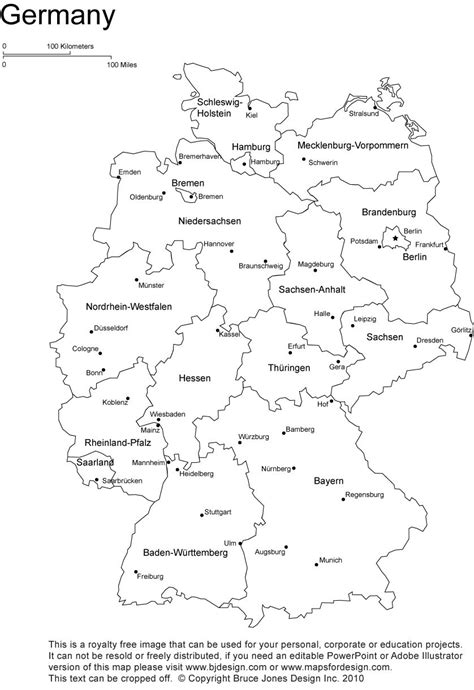 printable directions germany printable blank map bonn berlin europe