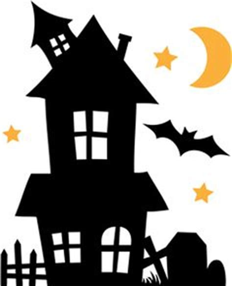 printable haunted house outline haunted house pattern for halloween use the printable