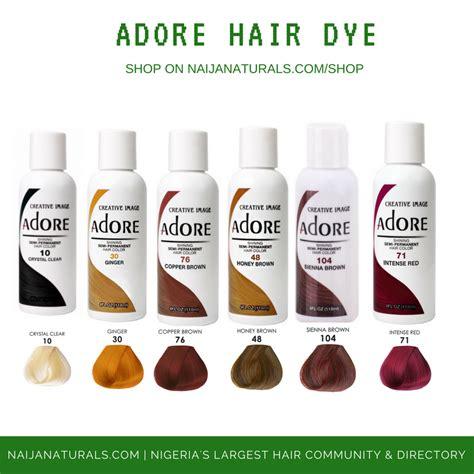 adore hair color review adore hair dye in nigeria naija naturals
