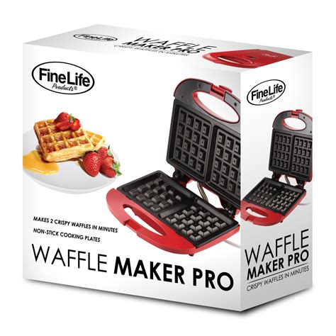 Teflon Waffle waffle maker in nonstick duo by finelife waffle makers