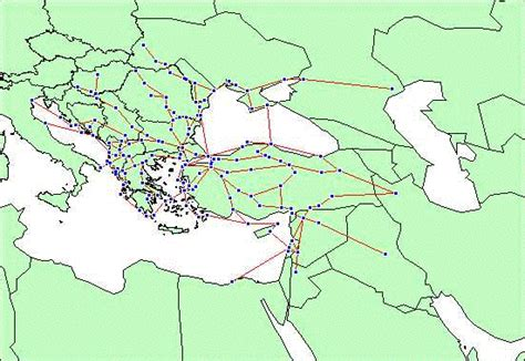 trade routes of the ottoman empire owtrad data set tmctrm1300 html