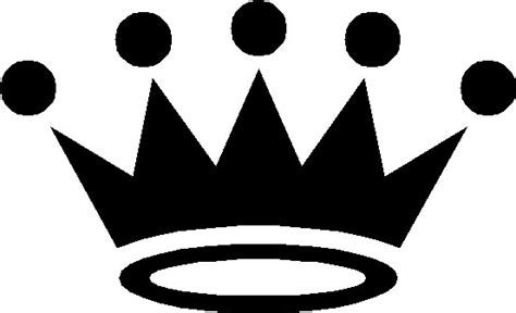 Crown Black And White Clipart free crown clipart pictures clipartix