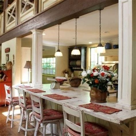 kitchen island with columns load bearing wall dream home hometalk can i make an island with an opening in a load
