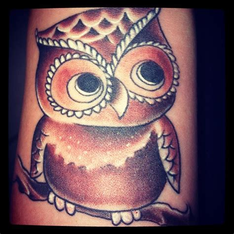 baby owl tattoo wittle baby owl wrist
