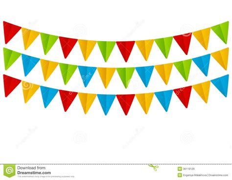 How To Make Paper Flags - set of paper flags royalty free stock images image 36119129