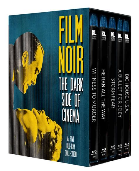 film noir blu film noir the dark side of cinema blu ray box set