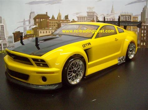1 8 Paint Engine Scale ford mustang gt r hpi rs4 3 drift rtr custom painted