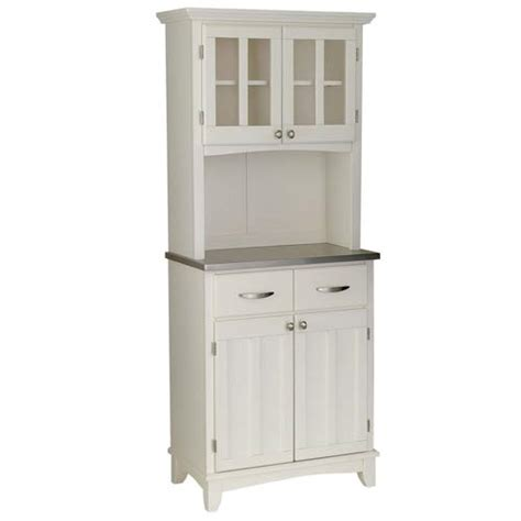 white cabinet microwave white microwave cabinet with hutch styles stainless