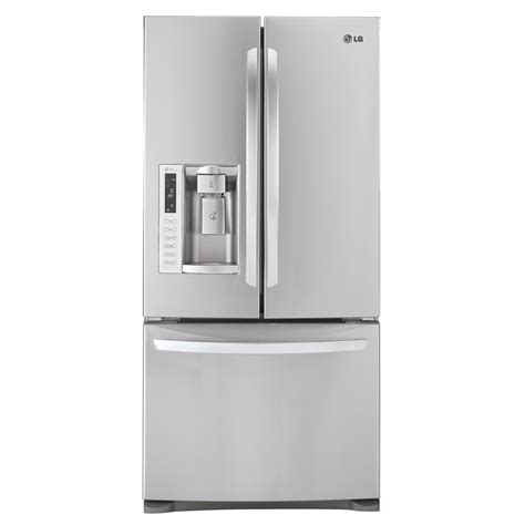 door refrigerator sears outlet lg lfx25978st 25 0 cu ft door bottom freezer