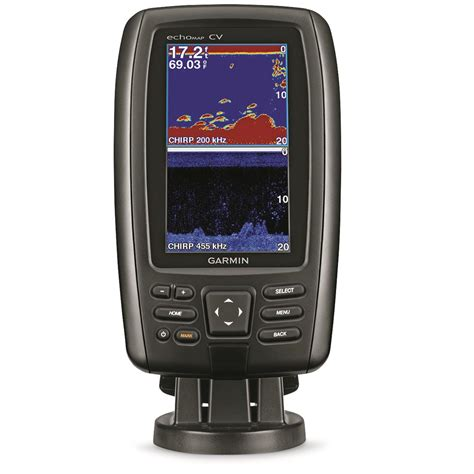 garmin echomap chirp 43cv w transducer sonar fish finder