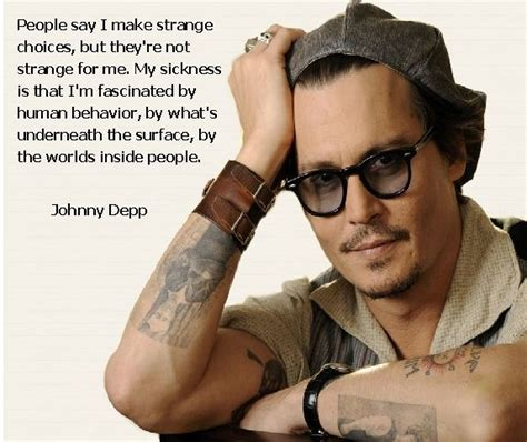 johnny depp tattoo saying 17 best images about johnny depp on pinterest restaurant