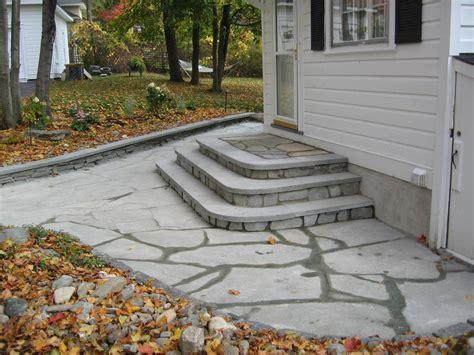 patio steps design bluestone patio step design averill park ny