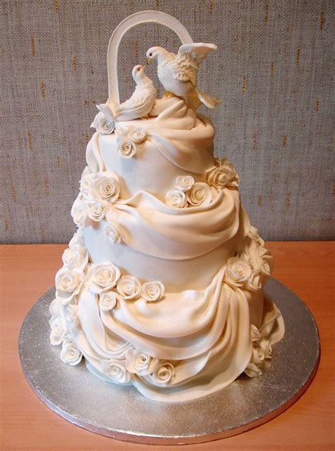 Beautiful Wedding Cakes Toppers Wedding Cake   Cake Ideas