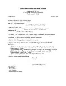 Appointment Letter Usaf 13 Best Images Of Army Memo Of Understanding Template