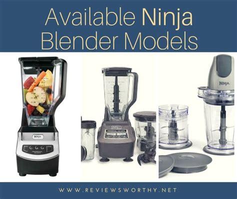ninja blender models
