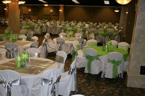 Quinceanera Chair Decorations Green Quinceanera Decorations Chair Covers With Silver